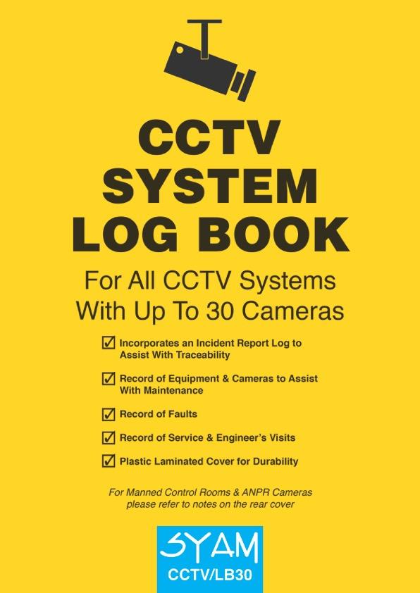 Cctv Log Book