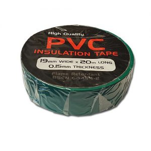 19mm x 33m PVC Insulation Tape Black - T800 - Sparky's Mate